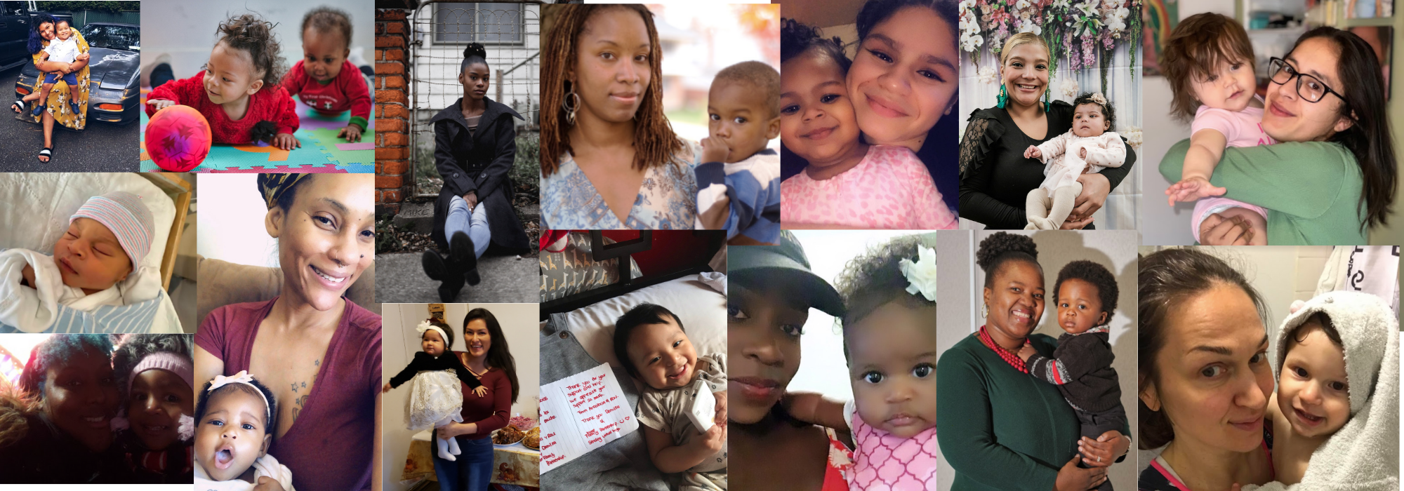Collage of NFP Clients